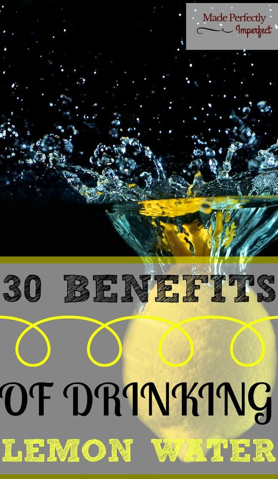 Lemon water benefits 48688