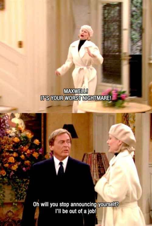 "Community Post: 10 Times Niles From ""The Nanny"" Threw The Best Shade:"