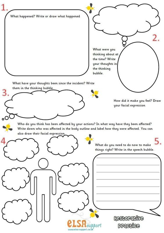 restorative practice image SEL Lessons Pinterest Counselling - first aid incident report template