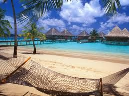 Bora Bora and that hammock are calling my name.