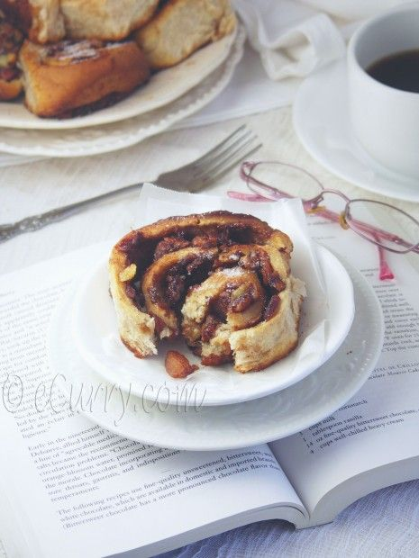 Caramel Apple Cinnamon Roll 5