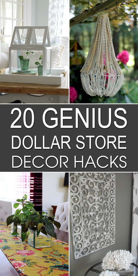 Top 30 home decor dollar store diy dollar store home decorating projects 16 diy dollar store - Dollar store home decor ideas pict ...