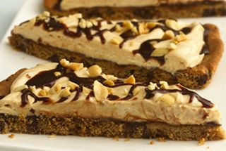 Chocolate - Peanut Butter Cookie Pizza