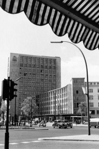 Allianz Hochhaus Joachimstalerstrasse 60er Jahre