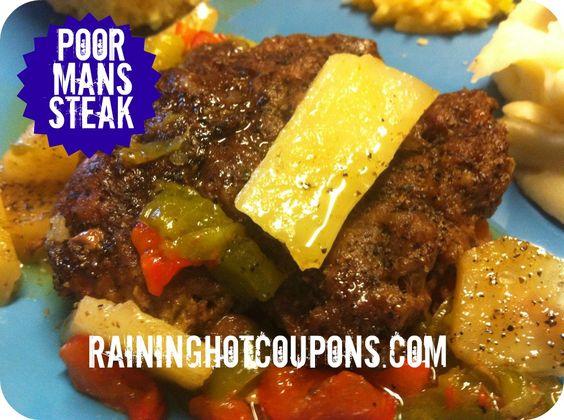 Poor Mans Steak Recipe