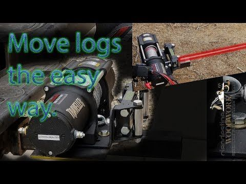Make A Quick Detach Mount For A Winch On Your Trailer Hitch Youtube Winch Trailer Hitch Trailer Hitch Receiver