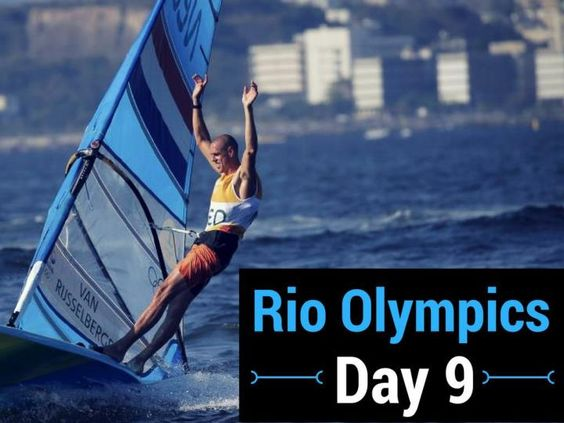 Highlights from the ninth day of competition at the Rio Games.