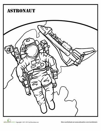 astronaut coloring page pinterest articles astronauts