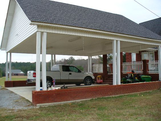 Detached Carport Plans Image