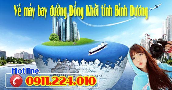 Ve may bay duong Dong Khoi Thanh Pho Thu Dau Mot tinh Binh Duong