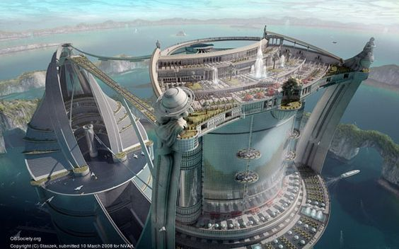 Unbelievable Architecture Designs for the Future - The Great Bayan    Sergey Skachkov, Russia