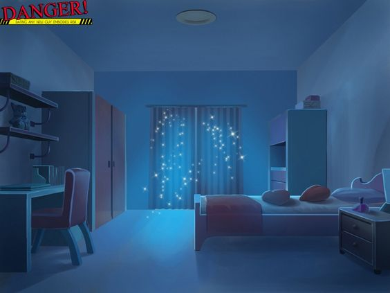 Anime scenery scenery and anime on pinterest for My room wallpaper
