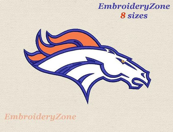 Logos Denver Broncos And Embroidery On Pinterest