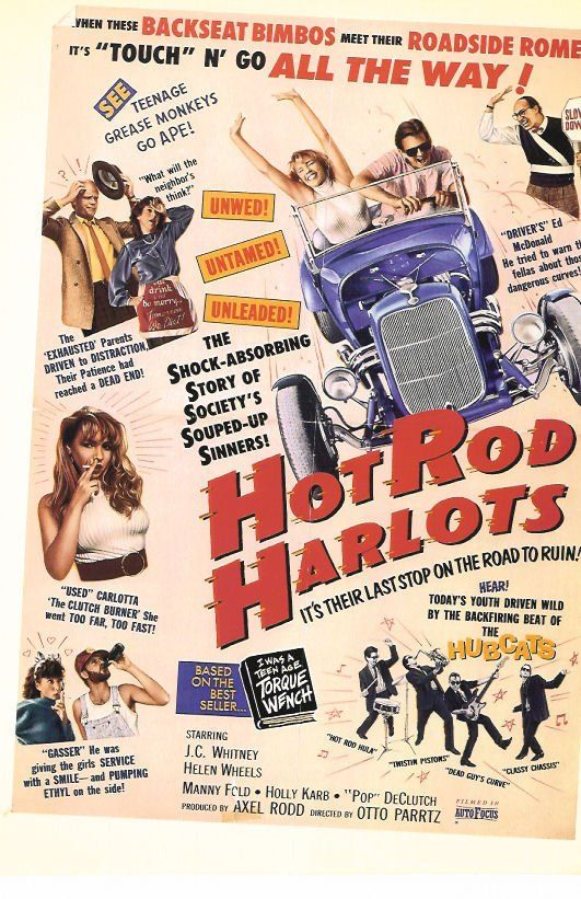 Hot Rod Harlots: Movie Hot, B Movies, Movies Campy, Movie Poster, Movies Imovie, Classic Movies, Roll Movies, Imovie Stars, Movies 1
