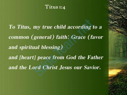 titus 1 4 the father and christ jesus powerpoint church sermon Slide04  http://www.slideteam.net/