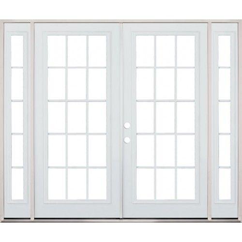Double doors patio and steel on pinterest for Double door patio doors