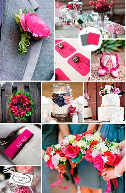 Combinação de cores. Sem dúvida o uso do rosa fica muito interessante.
