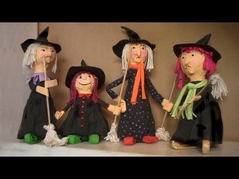 Halloween - Dia das Bruxas com sucata 1 - YouTube