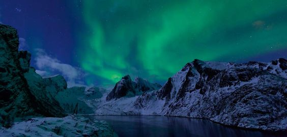 Aurora Boreal en las islas Lofoten