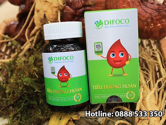 hướng dẫn sử dụng tiểu đường hoàn difoco
