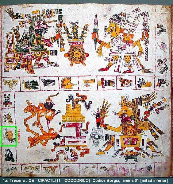 "TONALPOHUALLI : MATLACTLI UAN CE-OZOMATLI (11-MONO) 5/Febrero/2016 ""El calendario Ritual"" Cuenta de las trecenas Descripción completa: https://plus.google.com/+TlacuiloAzteca/posts/SDw1eVqc1eR"