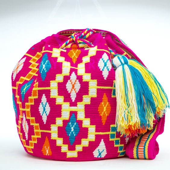 Hermosa Wayuu Bag - Woven One Thread: