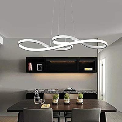 Lampada A Sospensione A Led Da 60 W Design Moderno Illuminazione Interna Altezza Regolabile Lamp Illuminazione Della Sala Da Pranzo Lampadari Illuminazione