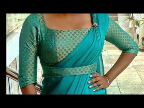 Pin On Saree Blouse