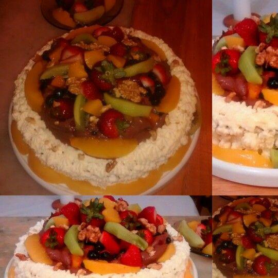 #tortafrutal #tortaahuecada #tortamuose #tortadulce