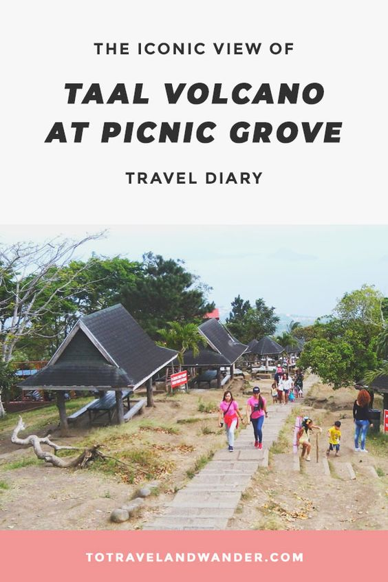 Travel Diary The Iconic View at Picnic Grove Tagaytaye