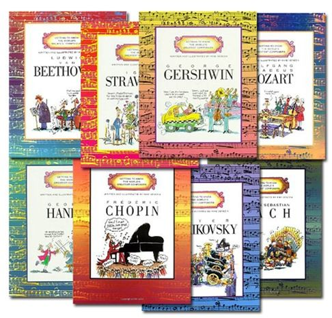 Worlds greatest Composers unit study - Downloadable for $5.50 - includes Intro to Orchestra, Sebastian Bach, Handel, Mozart, Beethoven, Chopin, Tchaikovsky, Stravinsky, Gershwin, Composer Reports, Instrument Word Scrambles, and Music Bingo Cards