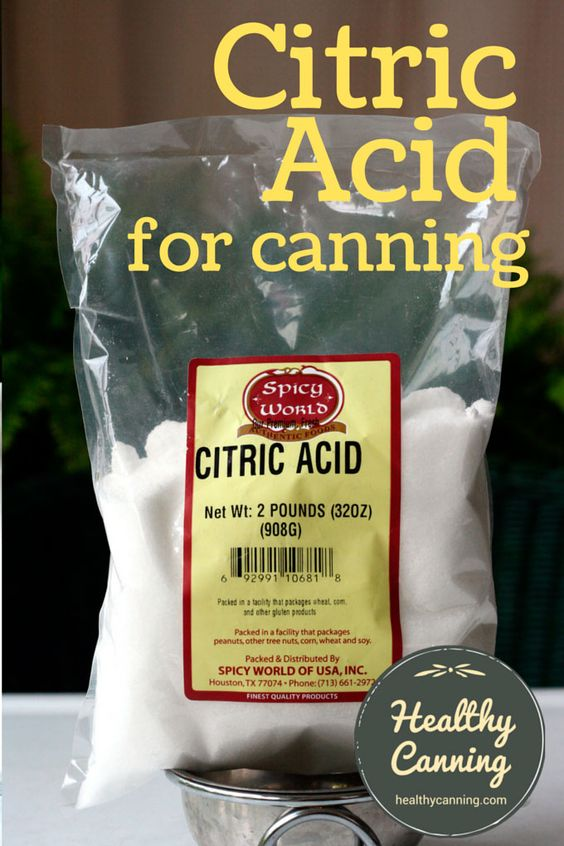 Citric acid and home canning | Home canning, It is and Home