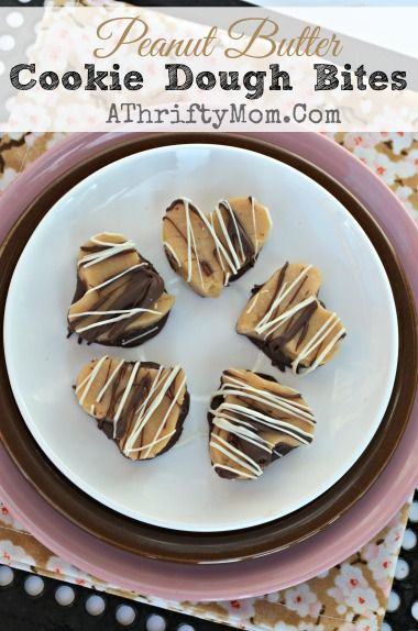 Peanut Butter Cookie Dough Bites, Quick easy recipe that melts in your mouth! You have GOT TO TRY it!