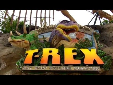 T rex restaurant in downtown disney florida pinterest for Disney dining reservations t rex