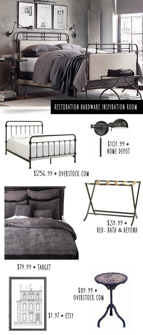 Restoration Hardware Bedroom: Get The Look for Less: