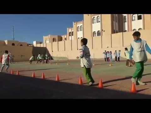 ألعاب رياضية مدرسية 01 Jeux Sports De L Ecole Sports School Games 01 Pr Oussama Hadj Said Youtube Yanni Albums School Games Youtube