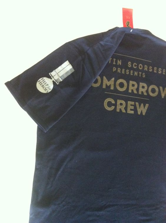 Crew T-Shirts for Martin Scorsese film