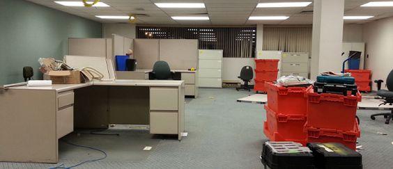 Những rắc rối thường gặp khi chuyển văn phòng: