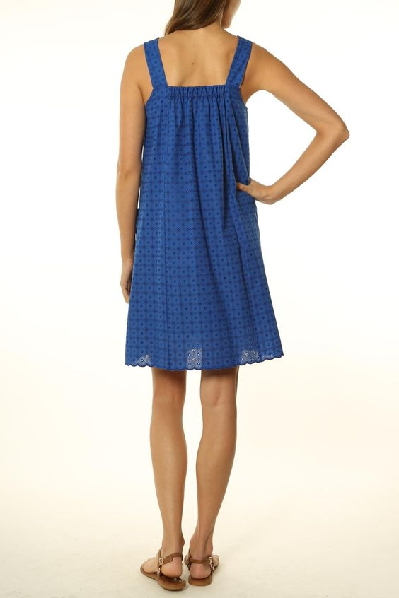 plum.ca   SIMONE Sun Dress With Elastic Back