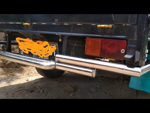 Membuat Bemper Belakang Pick Up Rear Bumper Membuat Bemper Stainles Youtube