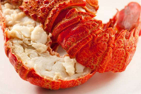Lobster with Hot Curried Crab Fondue