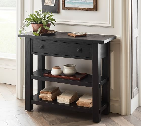 Benchwright 36 Small Space Console Table In 2020 Console Table Console Table Decorating Reclaimed Wood Console Table