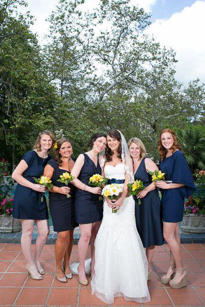 decoracao de casamento azul escuro e amarelo:Casamento com decoração Azul escuro e Amarelo