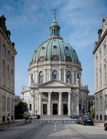 Marmorkirken - The Marble Church in Copenhagen, Denmark