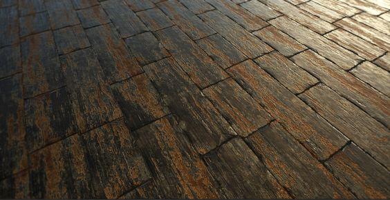 Substance Wood Planks #01, Carlos Rubio-Manzanares Álvarez - https://goo.gl/Ax0jbK #ThisIsSubstance #gamedev