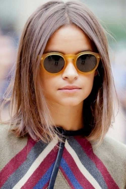 Best Short Hairstyles For Round Faces And Fine Hair Hairstyle