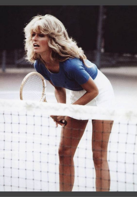 Farrah Fawcett, 1970's Style.