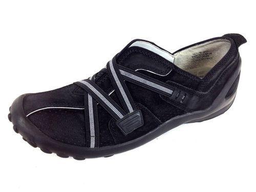 Clarks Womens Privo Black Suede Slip on Comfort Shoe Athletic Slide 7 M Nice | eBay