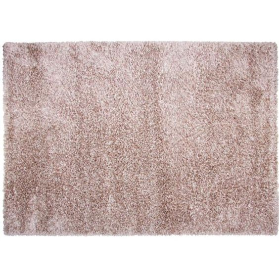 Tapis d co salon chambre textile d co linge maison literie - Tapis shaggy rose clair ...