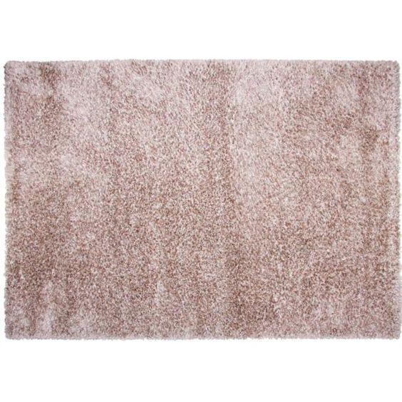 Tapis d co salon chambre textile d co linge maison literie - Tapis shaggy rose clair ...